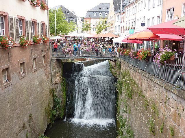 Wasserfall in Saarburg