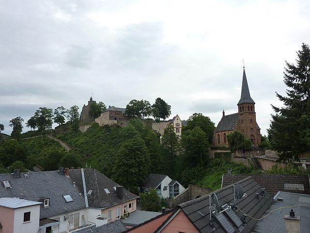 Saarburg mit Burg