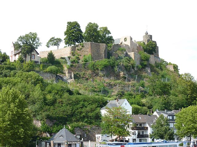 Burg in Saarburg