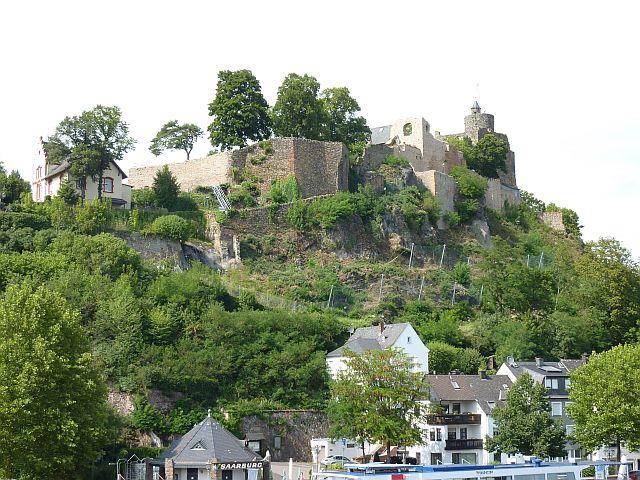 Burg in Saarburg