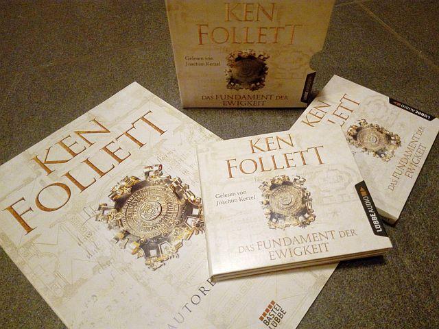 Eine Hörbuch Rezension zu Das Fundament der Ewigkeit von Ken Follett