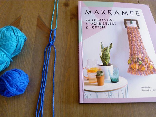 Buch Makramee 24 Liebelingsstücke selbst knüpfen - Rezension