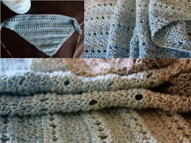 Collage Dreiecks-Tuch Horizont