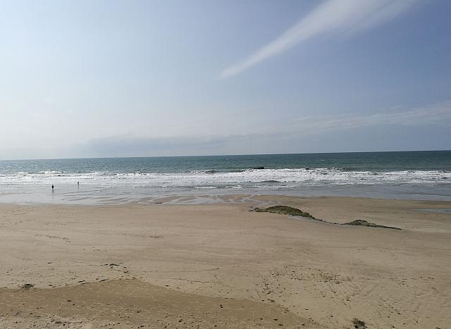 Strand in Soulac-sur-Mer
