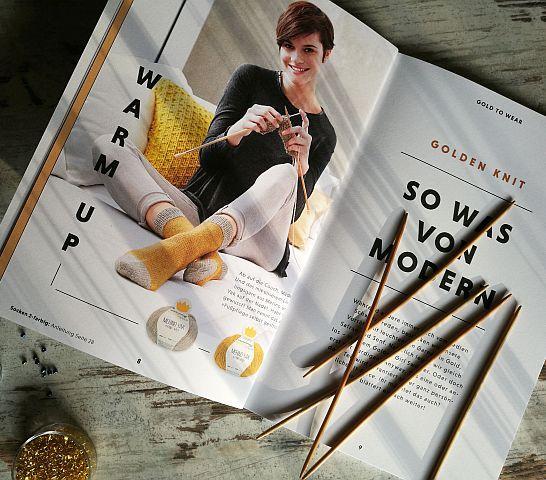 Hallo Trend Golden Knit