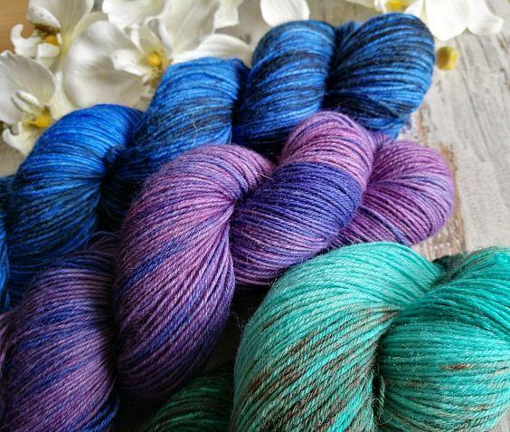 DIY (Socken)Wolle selbst färben