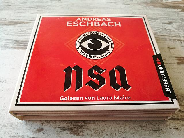 NSA - NATIONALES SICHERHEITS-AMT - Hörbuch